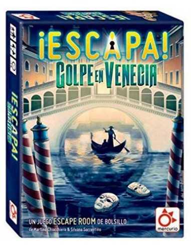 ¡Escapa! Golpe en Venecia