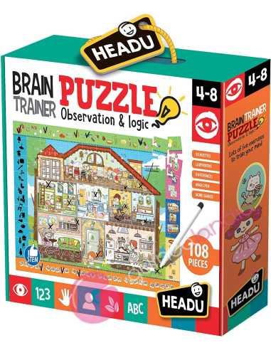 Brain Trainer Puzzle Observación y...