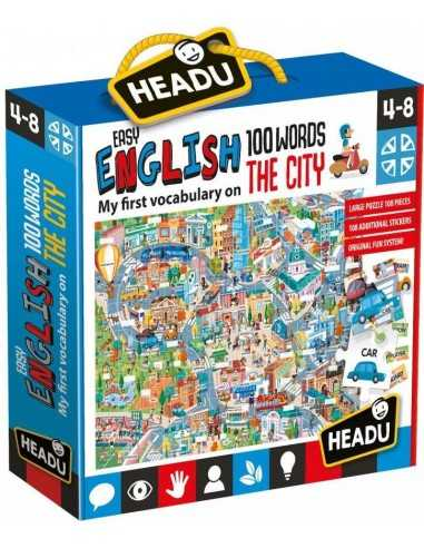 Easy English 100 Words City - Headu