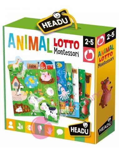 Animal Lotto Montessori - Headu