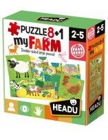 My first puzzle Farm 8+1 -...
