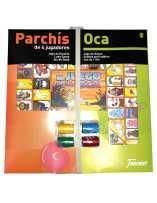 Parchís/Oca con Fichas 4...