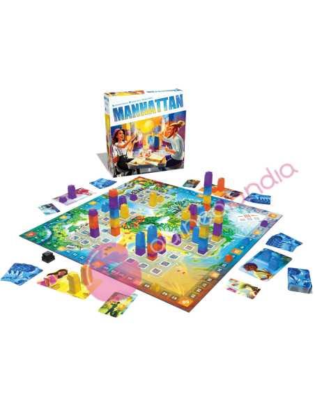 Manhattan juego de mesa