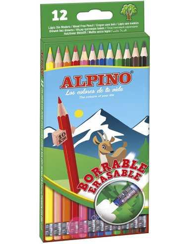Alpino - Estuche 12 Lápices con goma