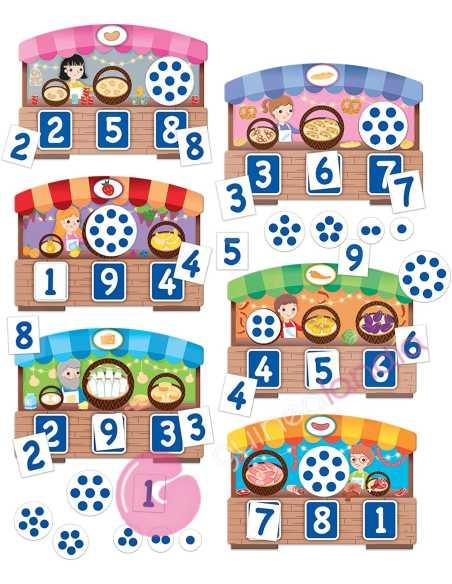 123 Montessori Touch Bingo