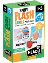 Montessori Baby Flash Cards - Headu