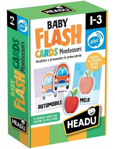Montessori Baby Flash Cards - Headu