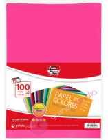 Papel Colores Fluor A4 100...