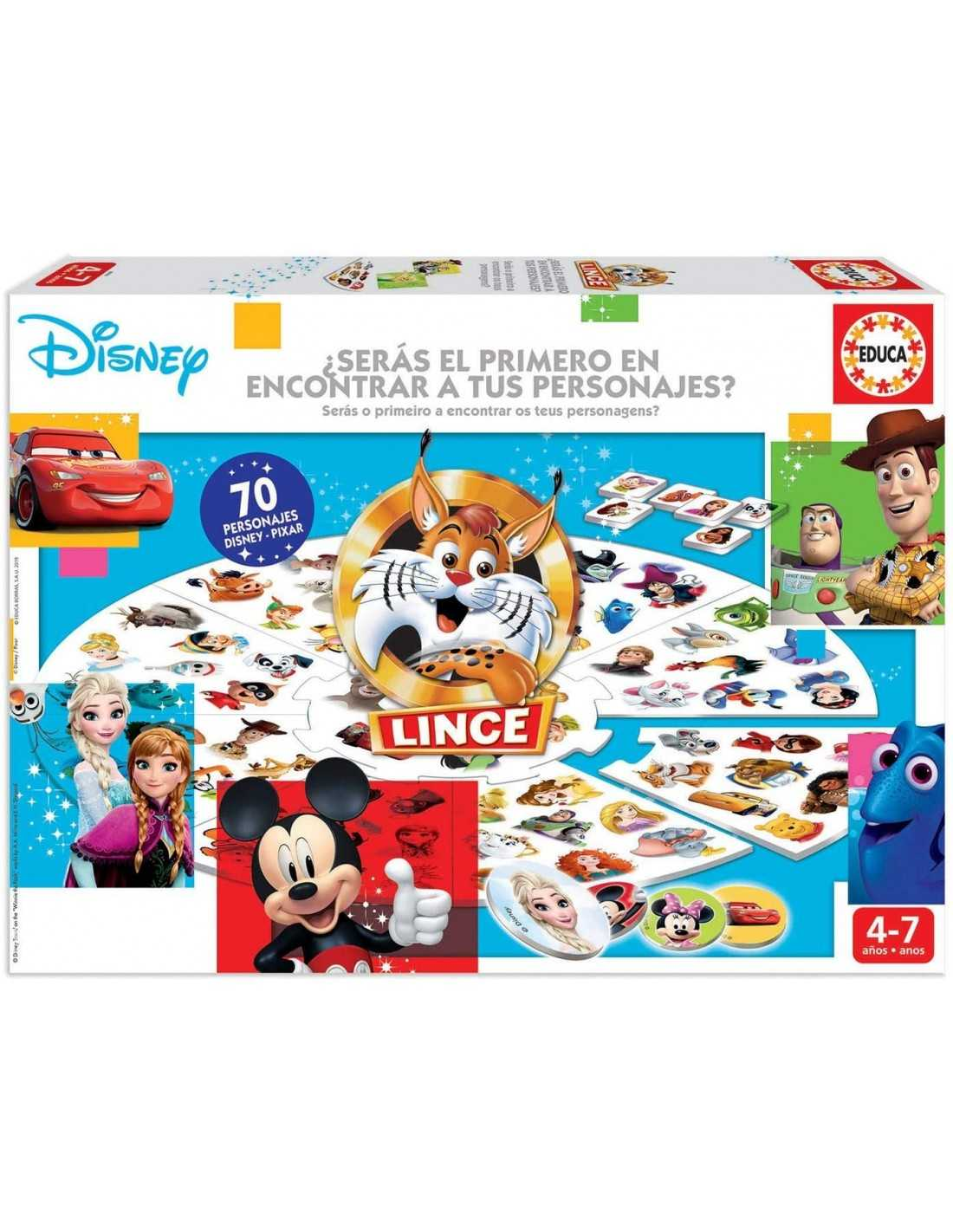 Lince Disney Educa Borras