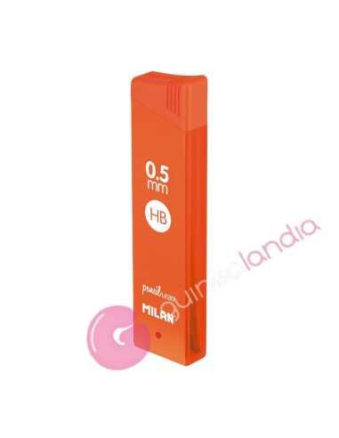 Caja con 12 minas 0.5 mm HB