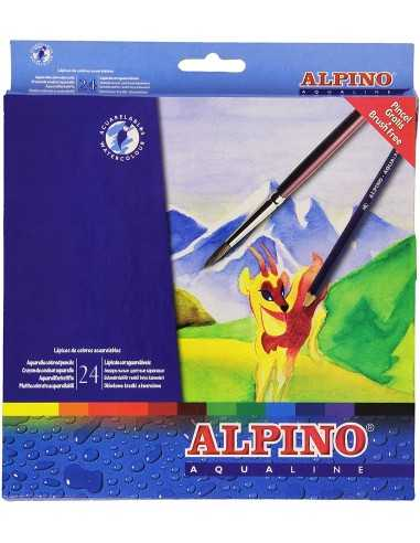 Alpino Aqualine 24 lápices