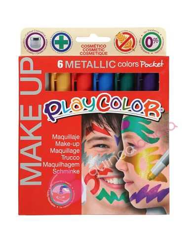 Maquillaje Playcolor Make UP Metallic...