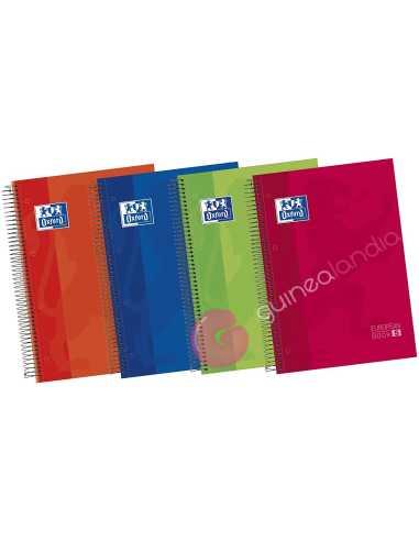 Cuaderno A4 120 hojas 5x5 Tapa...