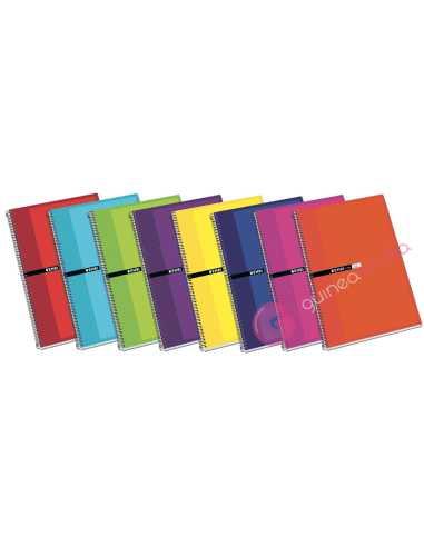 Cuaderno Fº 100 hojas 4x4 Tapa...