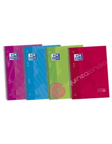 Cuaderno A5 120 hojas 5x5 Tapa...