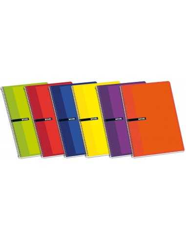 Cuaderno 4º 80 Hojas 4x4 Tapa blanda...