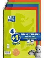 Pack Cuaderno 4+1 Tapa...