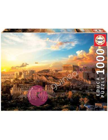 Acrópolis de Atenas Puzzle 1000 piezas