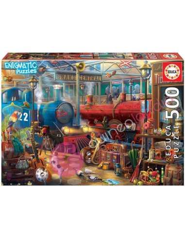 Estación de Tren Enigmatic Puzzle 500...