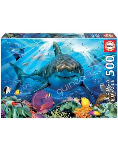 Gran Tiburón Blanco Puzzle 500 piezas