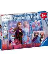 Frozen 2 Puzzle 3x49 piezas