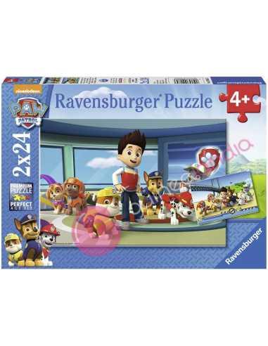 Patrulla Canina Puzzle 2x24 piezas
