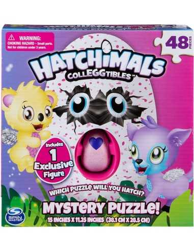 Hatchimals Mistery Puzzle + 1 Figura