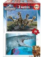 Puzzle Jurassic World 2x48...