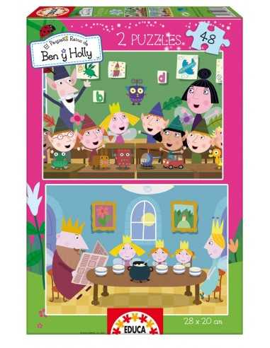 Puzzle Ben y Holly 2x48 Piezas
