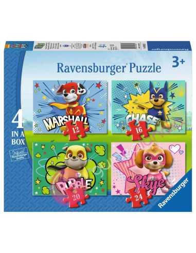 Puzzle Patrulla Canina 12+16+20+24...