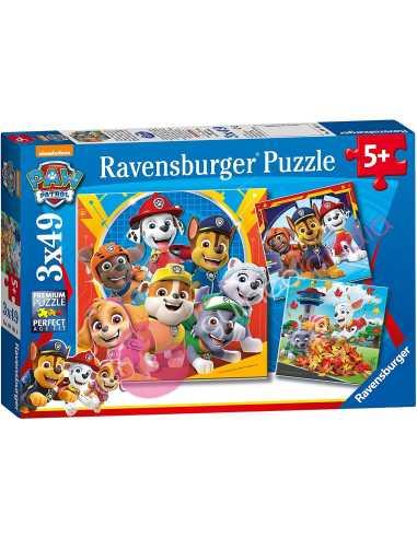 Puzzle Patrulla Canina 3x49 piezas