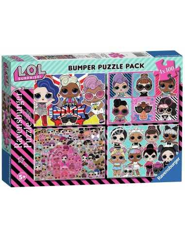 Puzzle L.O.L. 4x100 piezas