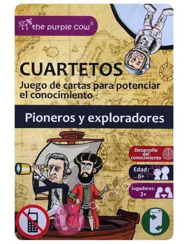 Juego Cuartetos Pioneros y Exploradores