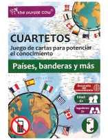 Juego Cuartetos Países, Banderas y Más