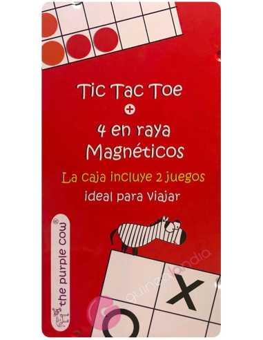 Tic Tac Toe + 4 en Raya Magnético
