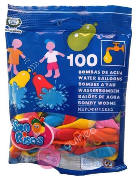 Globos de Agua bolsa de 100 uds