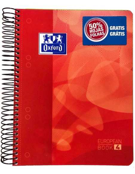 Cuaderno EUROPEANBOOK 4 - Oxford