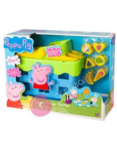 Peppa Pig Cesta Picnic con Formas...