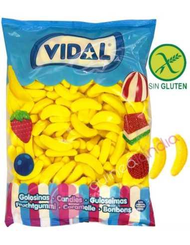 Bananas Gigantes bolsa 1kg - Vidal