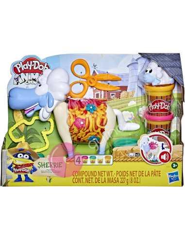 Oveja Peinados Divertidos Play-Doh
