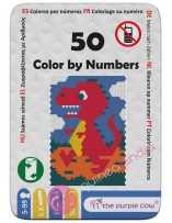 Colorear por Números 50 - The Purple Cow