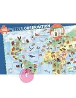 Puzzle Observación Animales...