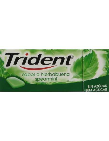Chicle Trident Gragea Hierbabuena