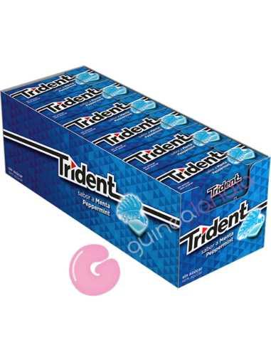 Chicles Trident Fresh Gragea Menta 24...