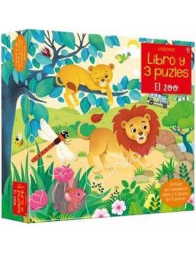 El zoo (libro y 3 puzzles 9 pzs)