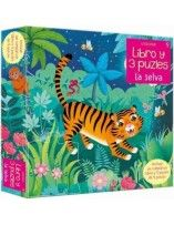 La selva (libro y 3 puzzles...
