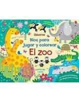 El zoo: Bloc para jugar y...