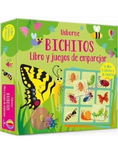 Bichitos. Libro y juegos de emparejar