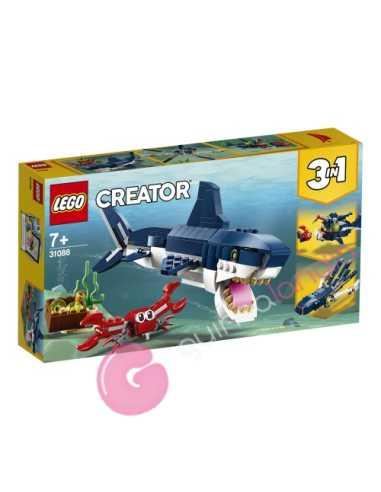 Criaturas del fondo marino Lego