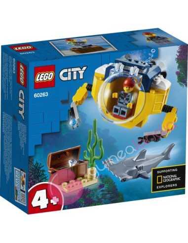Oceáno: minisubmarino Lego